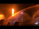 Цветные фонтаны в Дубае