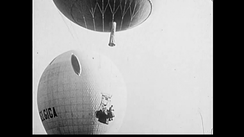Six Nations Compete In International Balloon Race (1929)