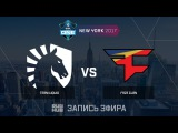 Team Liquid vs FaZe Clan - ESL One New York 2017 - map1 - de_inferno [yXo, CrystalMay]