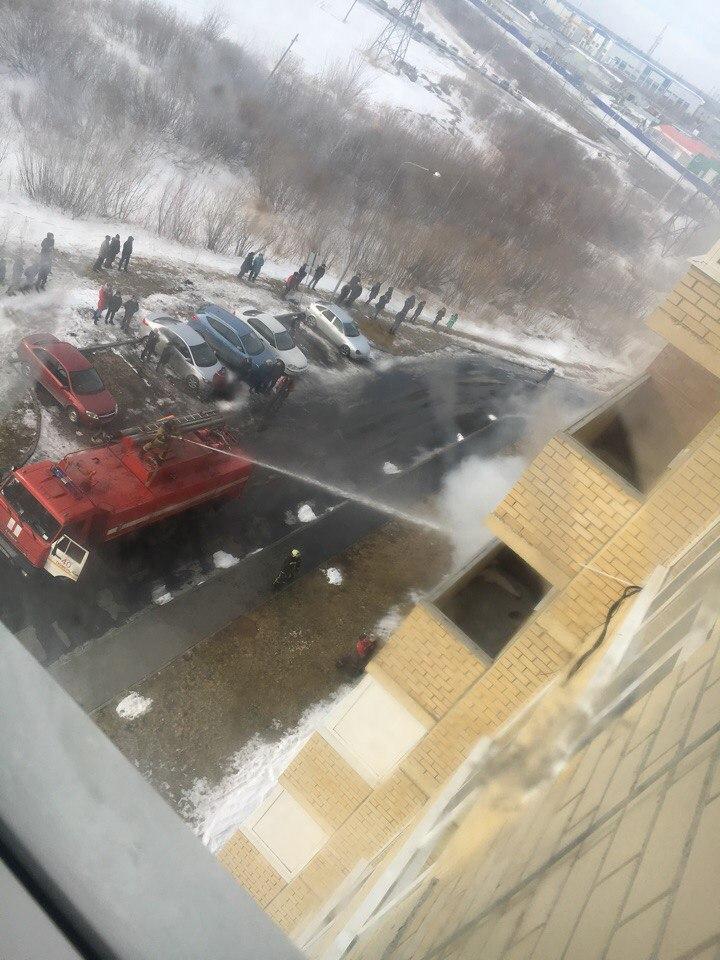 Пожар произошел в Тюмени на улице Верхнетарманская (ФОТО) 2