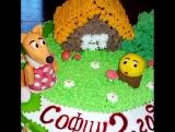 Медовый тортик по мотивам сказки