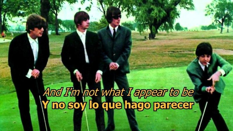 I'm a loser - The Beatles (LYRICS/LETRA) [Original]