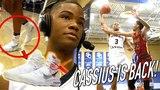 Cassius Stanley RETURNS in OFF-WHITE HYPERDUNKS! Catches BODY in SEASON DEBUT