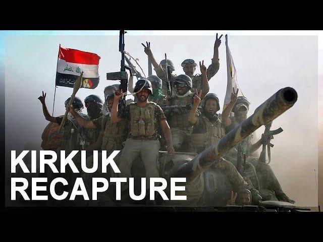 Iraqi recapture of Kirkuk