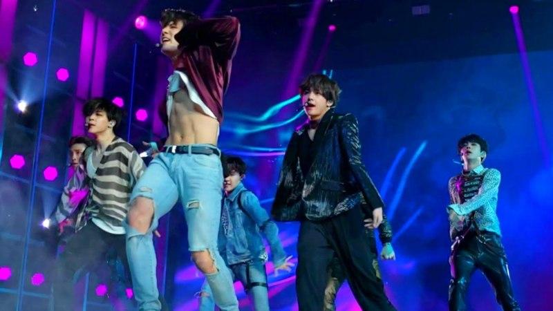 [HD FRONT ROW FANCAM] BTS (방탄소년단) FAKE LOVE BBMAS   빌보드 앞줄 캠