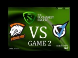 Virtus Pro vs VGJ.Thunder #2 bo5 The Bucharest Major, 11.03.2018