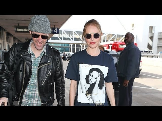 Кейт в аэропорту LAX, Лос-Анджелес (5.03.2018)