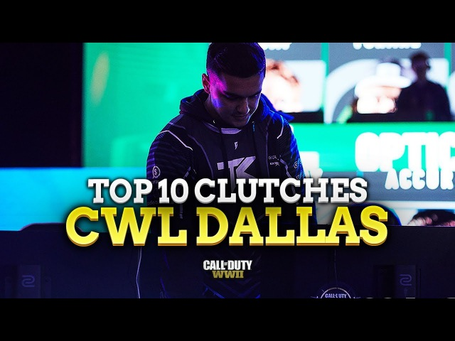 TOP 10 S D CLUTCHES CWL DALLAS 2017