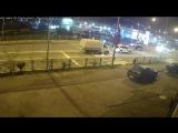 ДТП в Сочи. Пластунская - Кипарисовая, 31.03.18 Пострадал водитель мотоцикла.