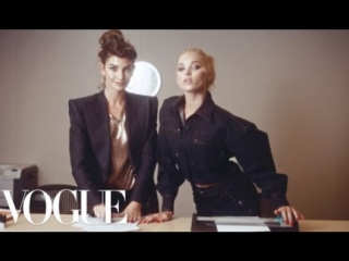 Workin' 9 to 5- Inside the Vogue Office! ft. Kate Upton, Elsa Hosk, Joan Smalls  More - Vogue