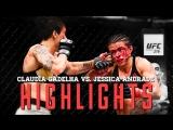 Claudia Gadelha vs. Jessica Andrade ● Fight Highlights ● HD