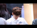FANCAM 29.04.18 Chan @ UNB 6th Fansign Dangsan TCC Art Center