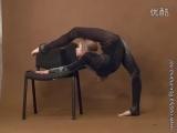 Gymnast Nastya is very flexible 07
