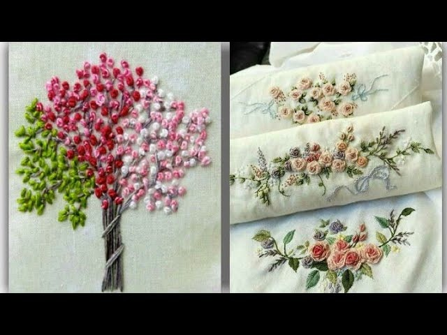 Simple and Beautiful Hand Embroidery Design new Attractive and Easy Stitch Hand Embroidery Collectio