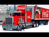 РЕАЛЬНАЯ ЖИЗНЬ В GTA 5 - УГНАЛИ ГРУЗОВИК COCA-COLA! ПРАЗДНИК К НАМ ПРИХОДИТ! 🌊ВОТЕР