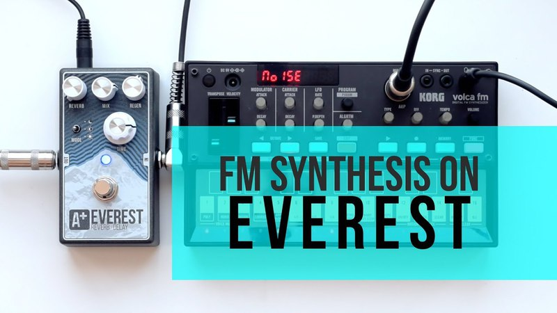 Volca FM meets A Everest by Shift Line