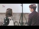 《메이킹》 오늘 뀨아커플 ♨으른키스♨ 했뀨♥ (#박력 #잠못잠주의).mp4