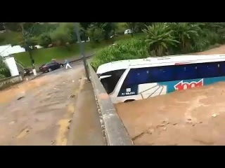 Мощный ливневый паводок в Петрополисе, Бразилия | Flood in Petropolis, Brazil