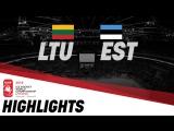 Литва - Эстония - 4:1