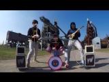 Крутое исполнение песни на детских инструментах [ALABAMA_fm] [HD 720]