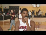 Hassan Whiteside Interview Miami Heat Media Day Sep 25 2017 2017 18 NBA Season