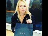 """Алина on Instagram: """"Что у меня в пакете))? #караван #zara #гуляем #выходной"""""""