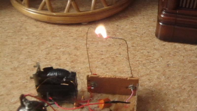 Строчник на лампе 6п45с
