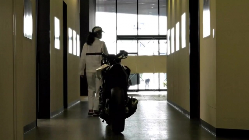 Умный мотоцикл Honda с системой самобаланса Moto Riding Assist MOTONEWS