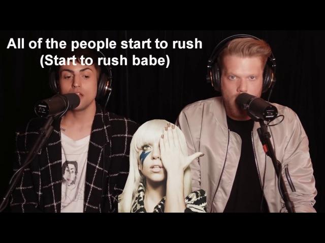 Superfruit Evolution of Lady Gaga Lyrics