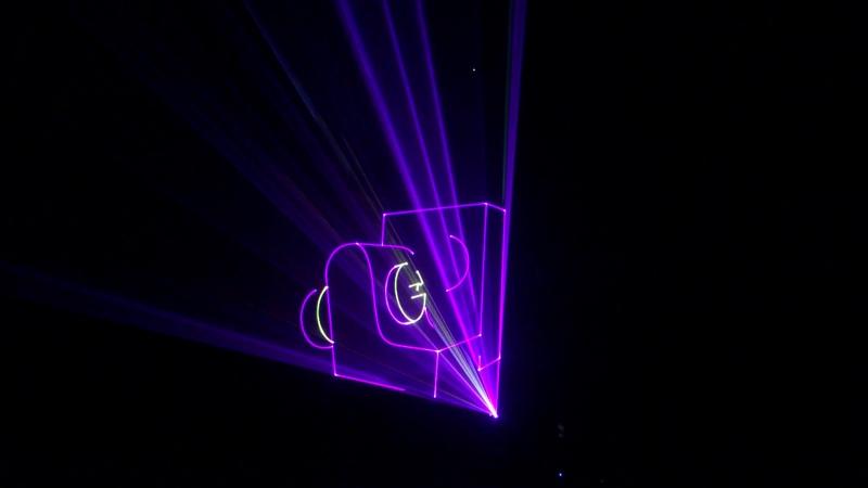Графика на Лазере LIGHTSPACE 3 5watt