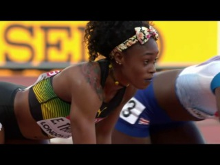 Women's 100m SEMIFINAL 2 World Championships London 2017