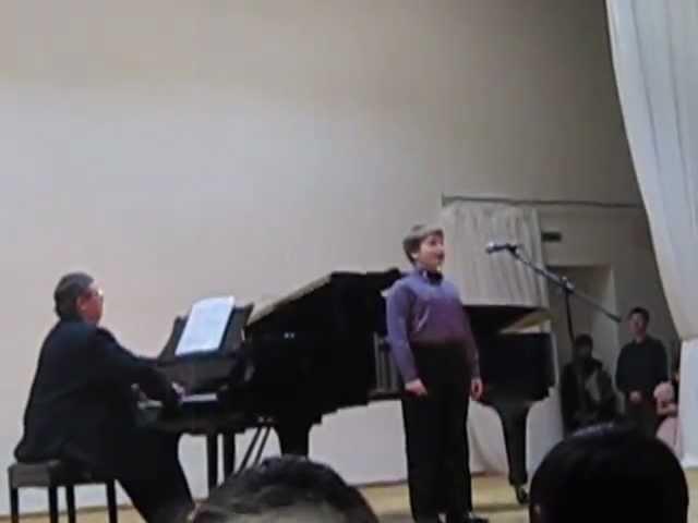 O sole mio! Исполняют: Дмитрий Иванов (дискант), Александр Онькин (фортепиано)
