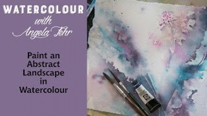 Paint an Abstract Floral in Watercolour with Angela Fehr