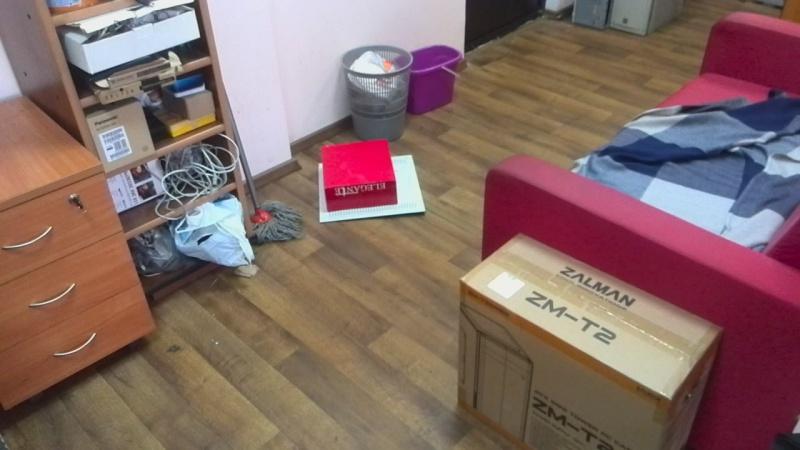 Как я поймал мышь в офисе.