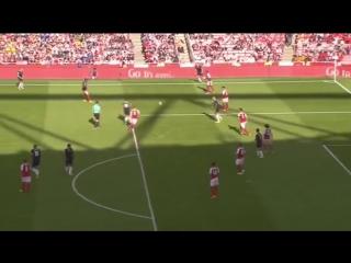 Арсенал 1:2 Севилья   Гол Н'Зонзи