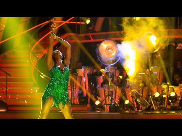 Jamelia Tristan MacManus dance the Cha Cha to 'Don't Cha' - Strictly Come Dancing: 2015