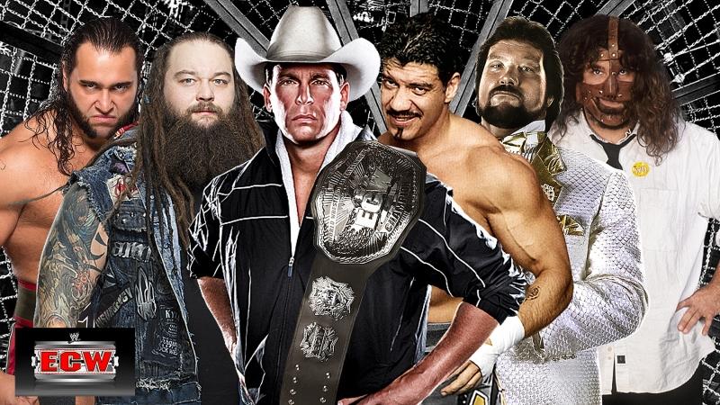 JBL с против Герреро против Уайата против Теда Дибиаси Старшего против Мэнкинда против Русева