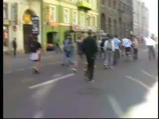 фанаты ф/к Кубань и Зенит вместе...