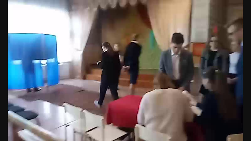 Выборы президента в Новоомской школе
