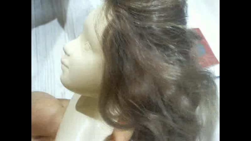 Лайфхак для темных волосы куклы Глумова Альбина