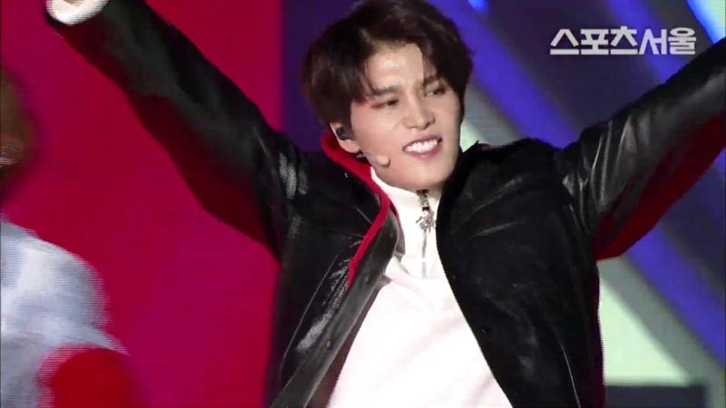 엔시티127 (NCT 127) - 'Cherry Bomb' (제27회 서울가요대상 틱톡상 공연)