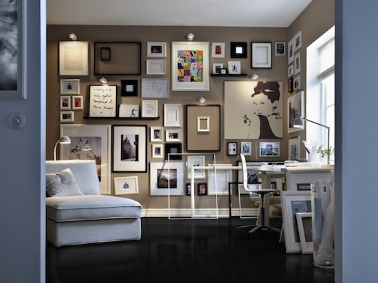 Как оригинально оформить стены в интерьере, изображение №5