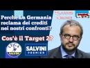  On Claudio Borghi perchè la Germania reclama dei crediti nei nostri confronti Cosè Target2