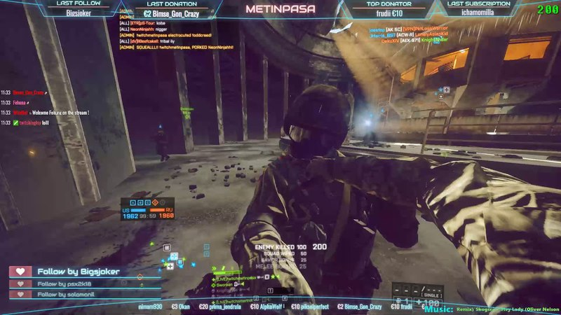 Battlefield 4 Twitch Highlights:Locker Deffi Troll