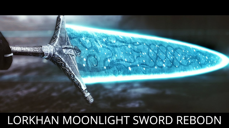 GREATSWORD KING Skyrim Mods Lorkhan Moonlight Greatsword Reborn