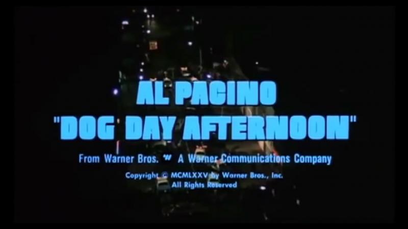 Собачий Полдень Dog Day Afternoon 1975 Официальный Трейлер HD