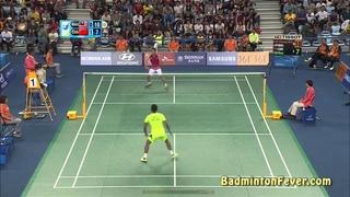Badminton Highlights - Lin Dan vs Lee Chong Wei - Asian Games 2014 MS SF