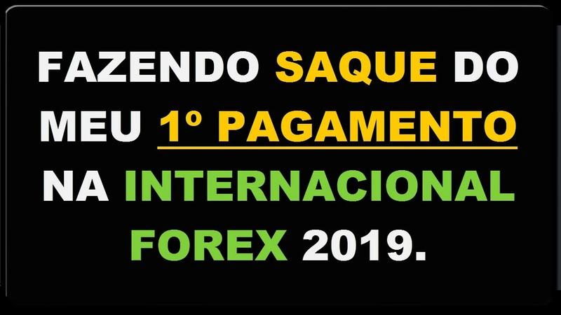 Fazendo SAQUE meu 1º Pagamento na Internacional FOREX Ganhe 10% ao Dia!