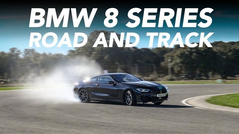 BMW 8 Series M850i 840d Road and Track Test Ascari Race Circuit w Tiff Needell