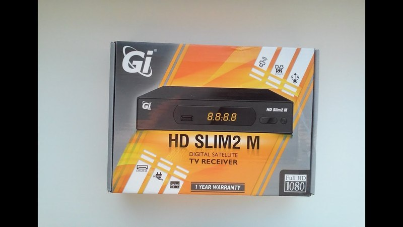 Обзор ресивера ► GI HD SLIM2 Metal
